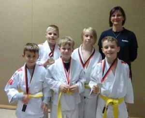Sieger des Judo-Wettkampfes in Henningsdorf