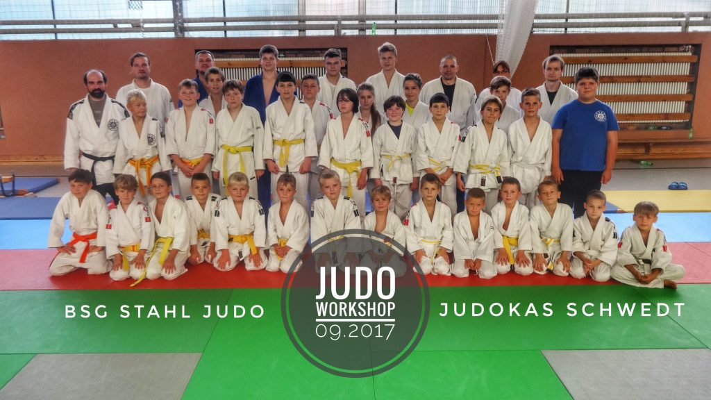 Gruppenbild Judo Workshop